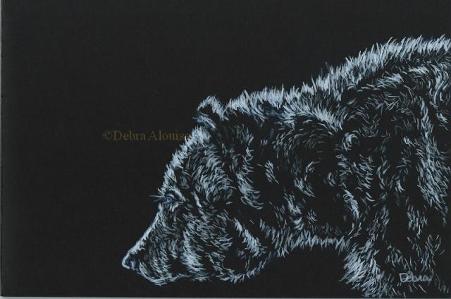 Sunlit Bear 17 Lightness debra 800